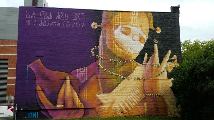 Bewitching Street Art and More at Montreal's Mural Festival