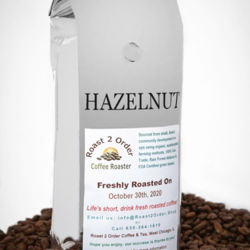 Hazelnut Flavored Whole Coffee Beans