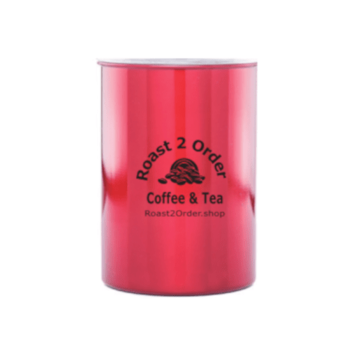 Red Airtight Canister