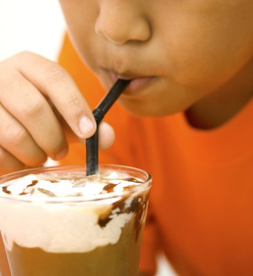 Iced Coffee with lots of cream