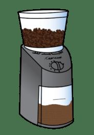 Captresso Coffee Grinder Illustration