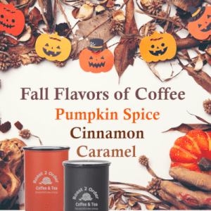 Fall Coffee Flavors with Canister bundle