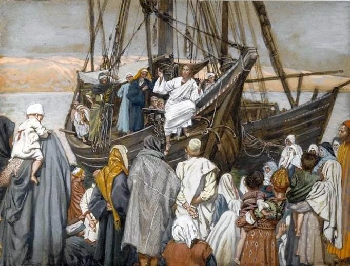 Jesus Teaches by the Seashore