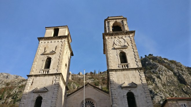 Some lovely although damaged buildings in Kotor