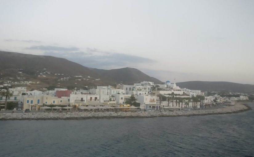 Greece: Paros here we come, first wedding Anniversary
