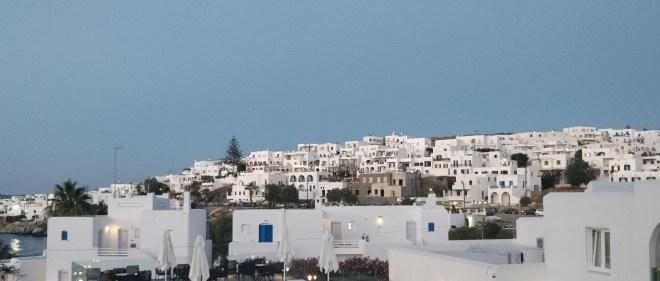 Naoussa has a beautiful skyline