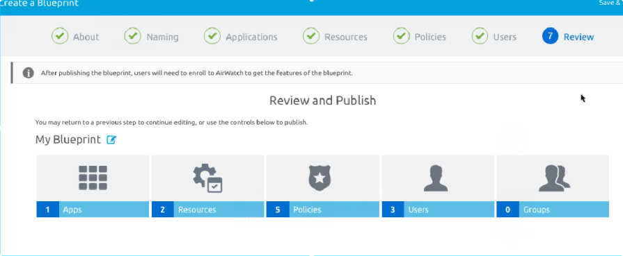 VMware AirWatch Express setup - a quick walkthrough the