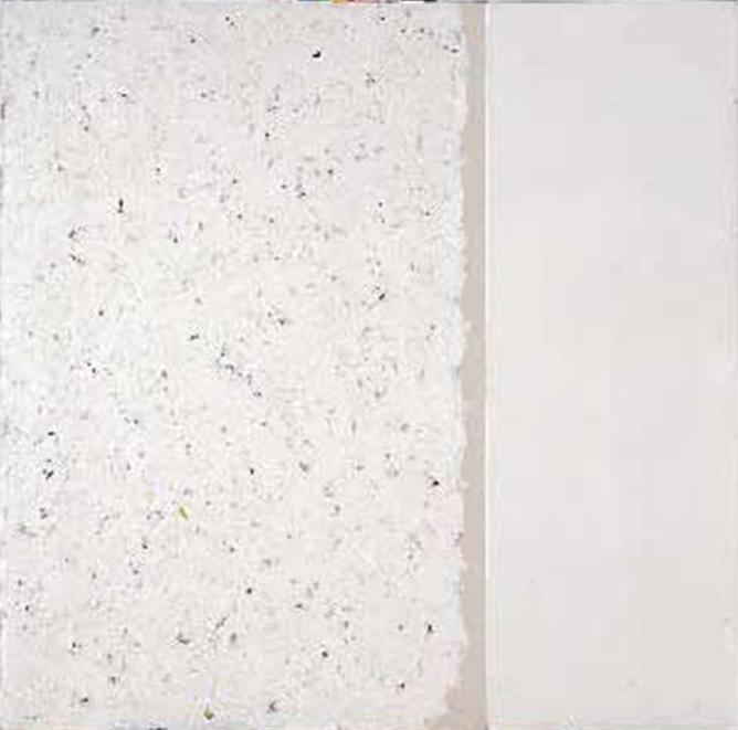 Robert Ryman, Untitled, 1960.