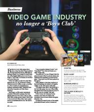 Nac mag story — female gamers page 1