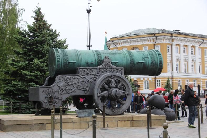 Kremlin - Tsar Cannon