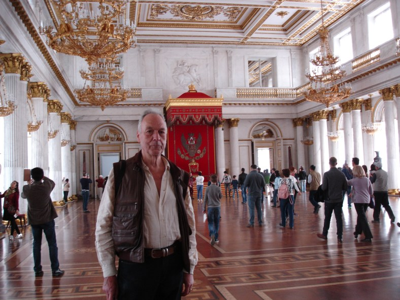 Winter Palace - RW in Throne Room
