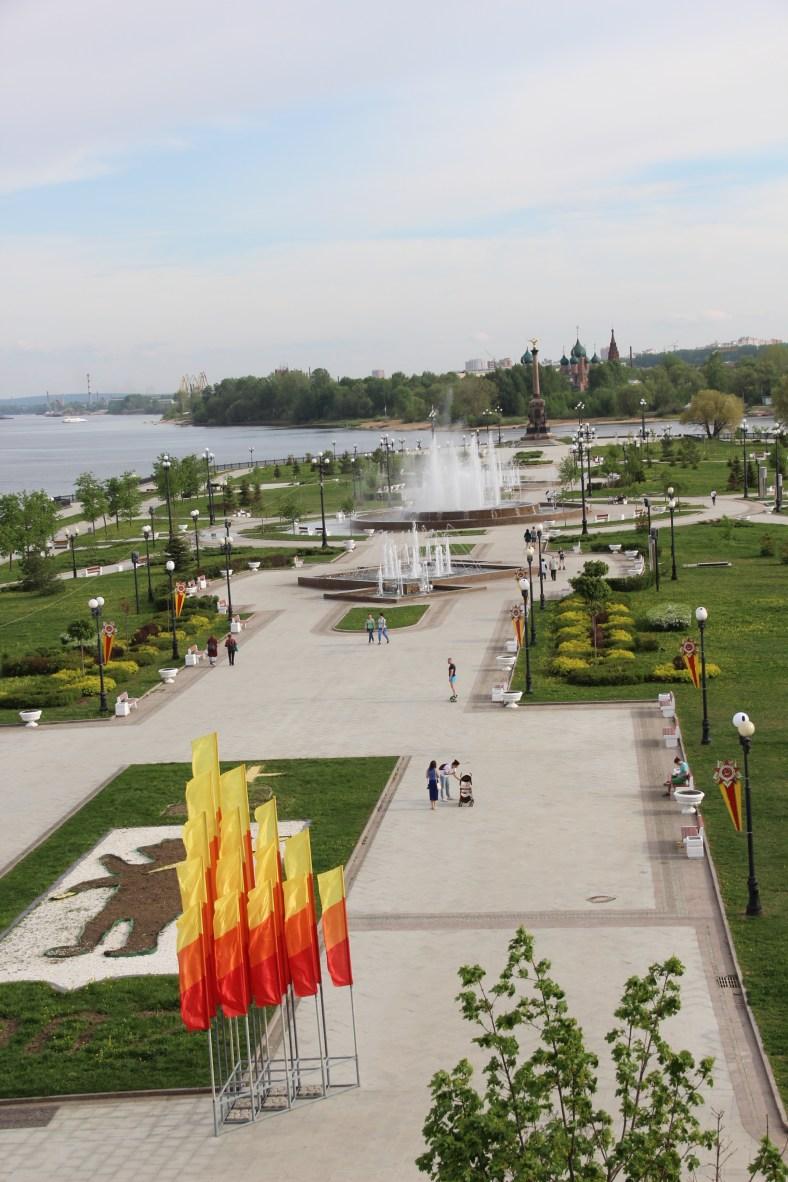 Kotorsoi River meets The Volga