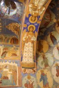 Suzdal - Cathedral of the Transfiguration - Frescoes 2
