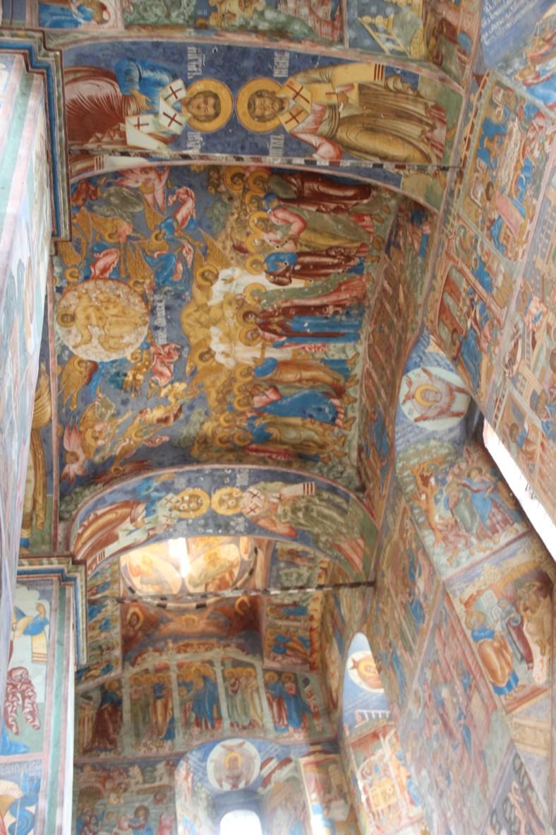 Frescoes - Church of The Prophet Elijah
