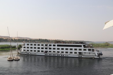 Sailing to Kom Ombo (3)