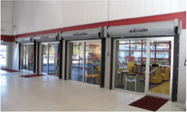 commercial fire garage doors and openers