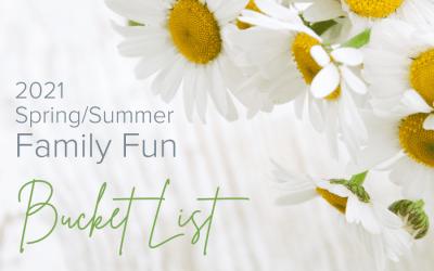 Building a Family Bucket List (Printable)
