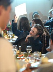 Rob bidding in the GO GO Gala auction
