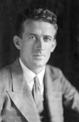 Photo of Harold Gatty renoun navigator from the early days of aviation. He also produced a survival manual for sailors to help them find their way home if their ship sank. Amazing man.
