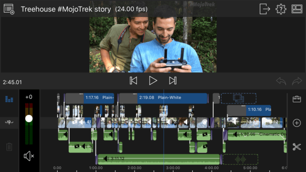 Best phone for mobile journalism - Editing video