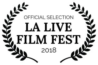 LA Live Film Fest award for Sophie Sutton