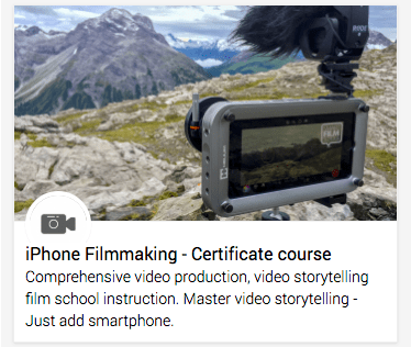 Certificate training course: Mobile journalism & Digital storytelling