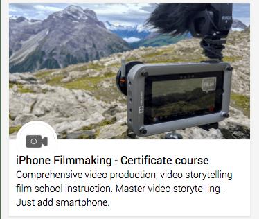 Certificate training course: Mobile journalism & Digital storytelling
