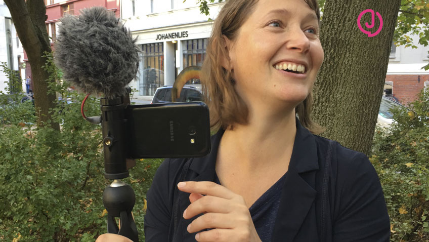 online training course for mobile journalism