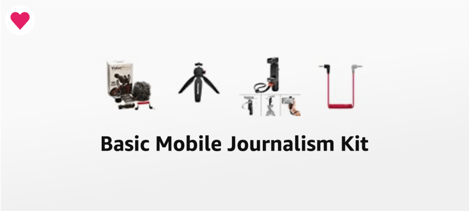 Basic Mobile video recording gear