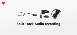 image fro Split Track Audio Recording kit