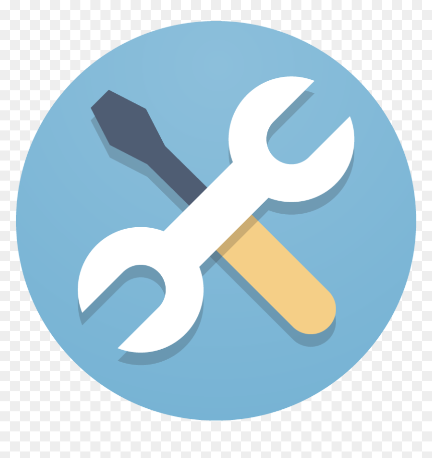 tools icon with transparent background