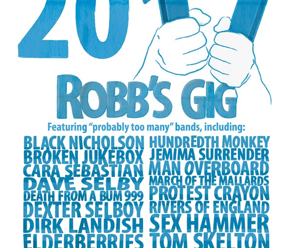 Robb's Gig 2011 Poster