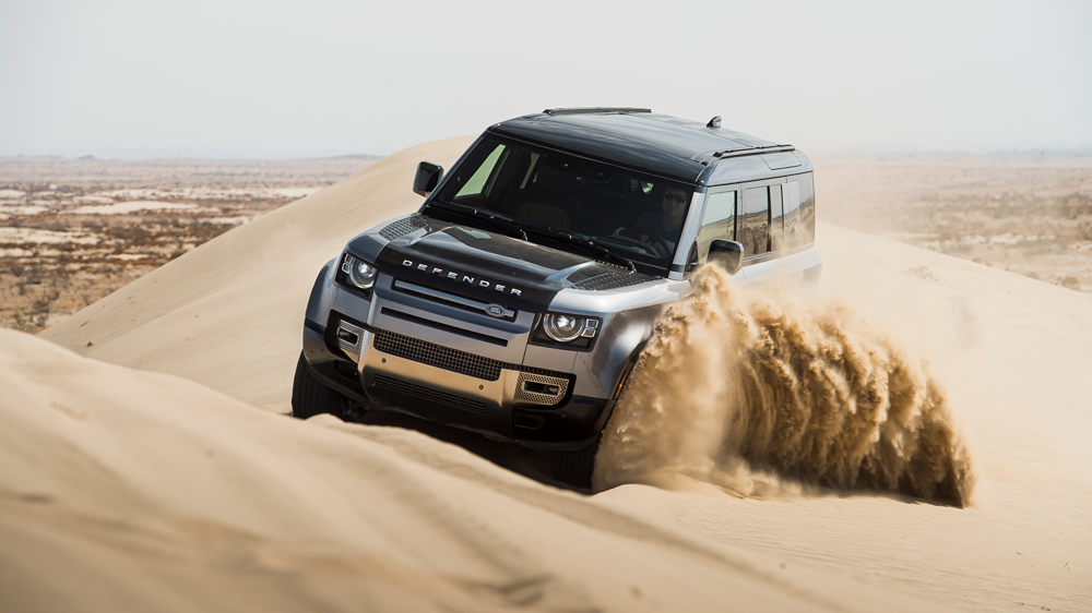 First Drive: How the 2020 Land Rover Defender Fared in a SoCal Desert –  Robb Report