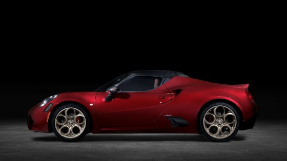 Spider 2020 Alfa Romeo 4C 33 Stradale Tributo.