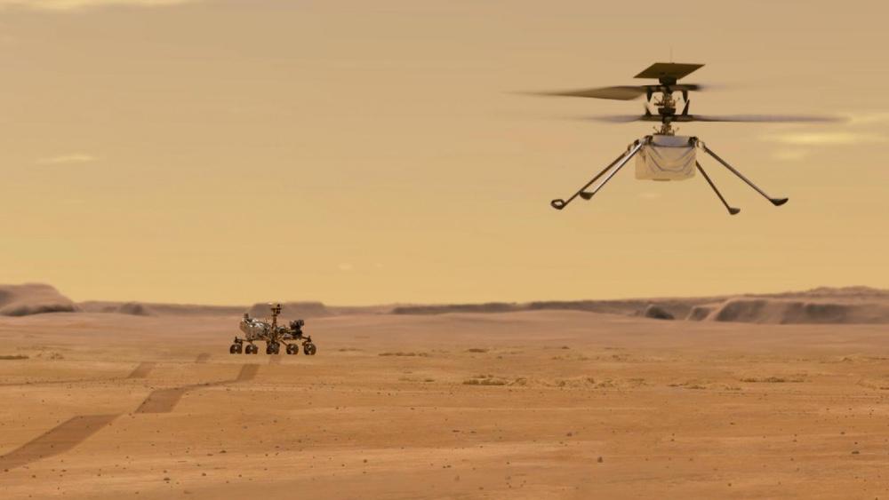 Meet Ingenuity, the eVTOL Mini Soon Flying Over Mars – Robb Report