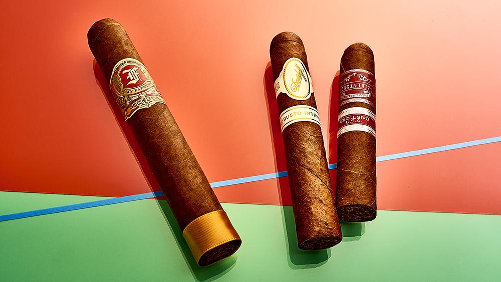 Fonseca Cigars, Davidoff Robusto Intenso Cigar, Regius 2020 Cigar