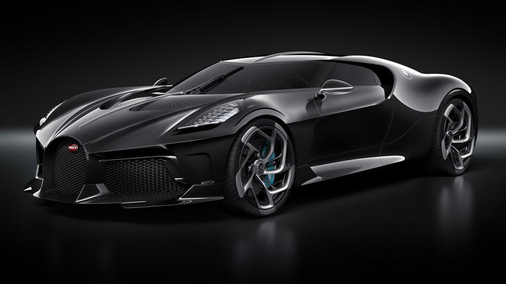 "01 lvn 34 front - ""La Voiture Noire"" de Bugatti, el auto de los 12.5 millones de dólares"