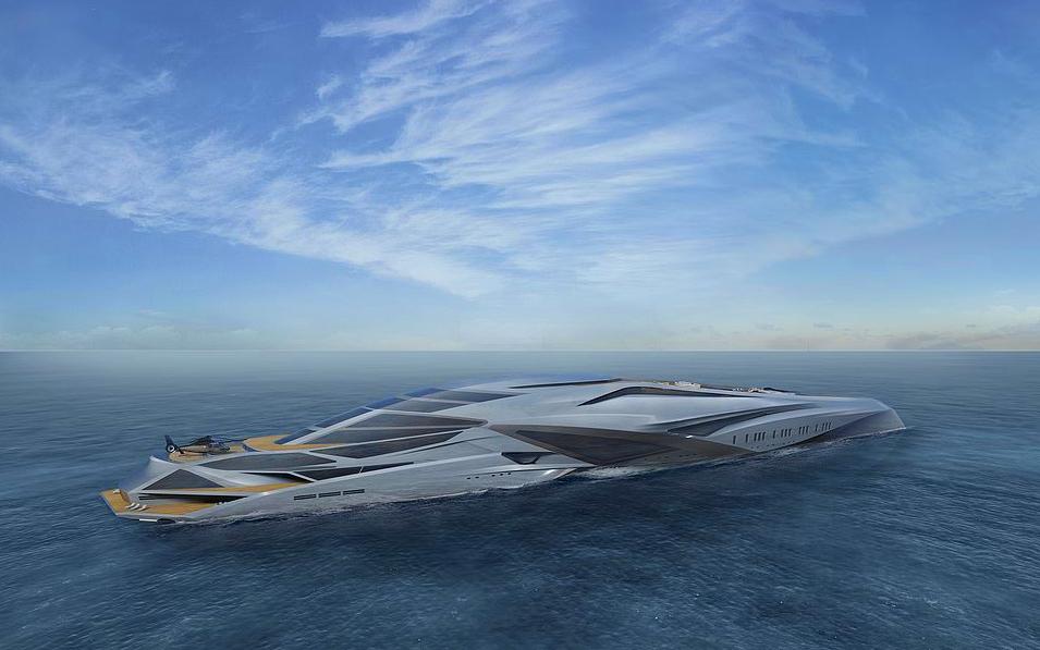 01 valkyria - Este superyate pronto será el más grande del mundo
