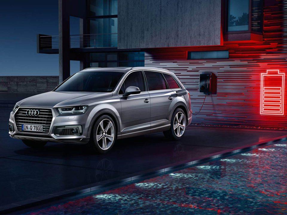 1. Audi Q7 e tron quattro - 6 cosas que debes saber antes de comprar tu primer coche híbrido