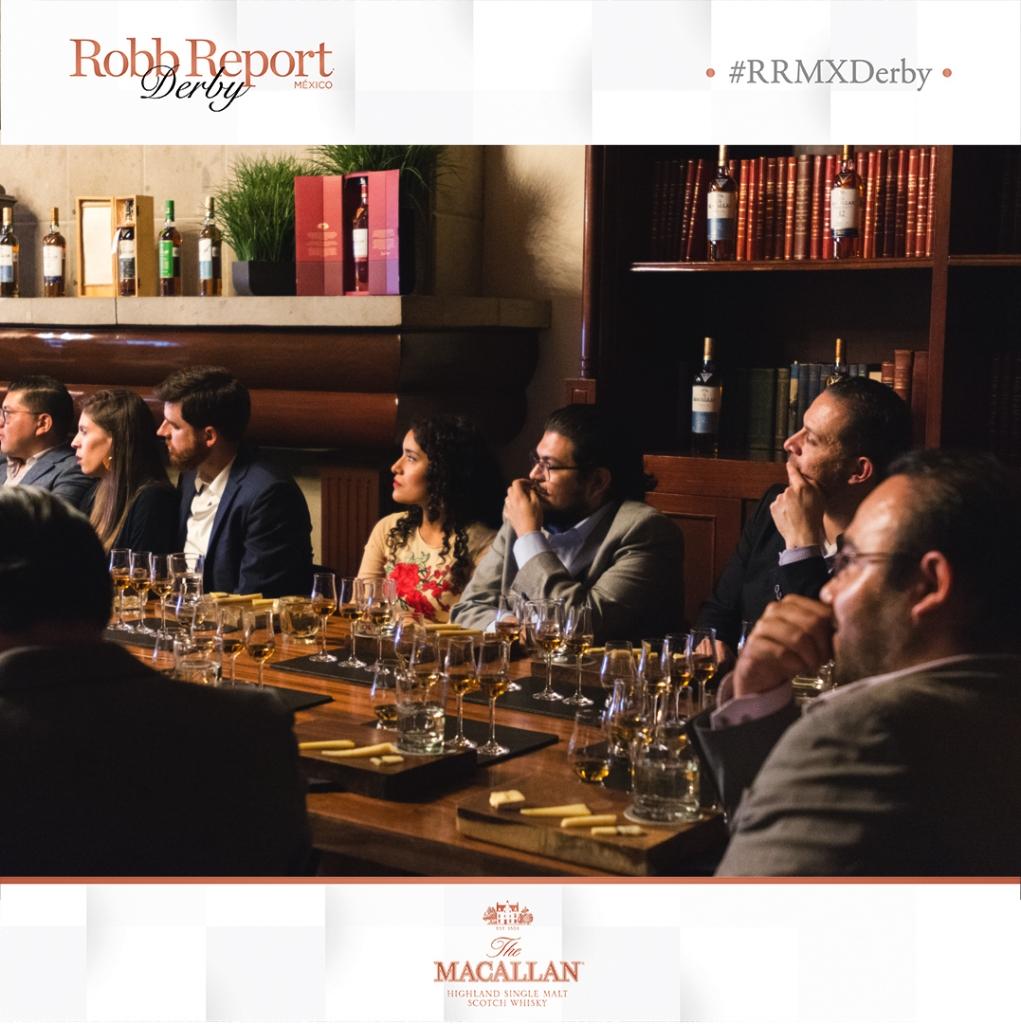 17 2 1021x1024 - Así se vivieron las catas con The Macallan en Robb Report México Derby