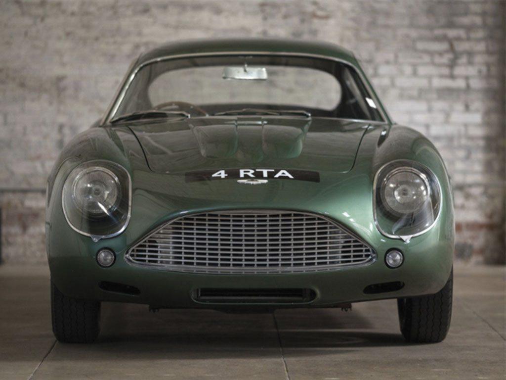 Sotheby's subastará un Aston Martin DB4 GT Zagato 1962