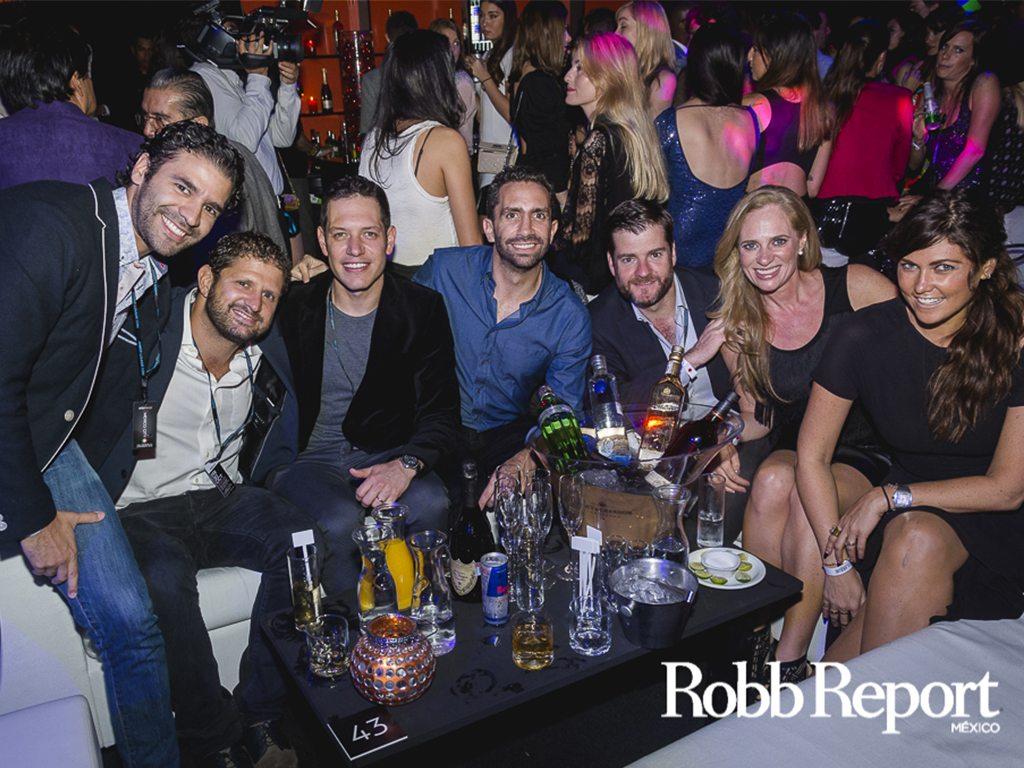Amber Lounge Ciudad de México, ¡todo un éxito!