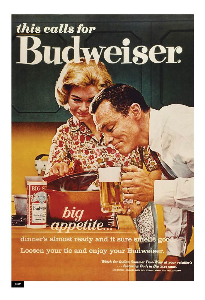 anuncio 1.1 - Budweiser cambia publicidad sexista de los 50´s y la adapta para millennials