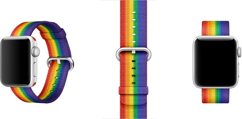 applewatchprideband 800x394 - Es mes de PRIDE y estas marcas los demuestran con colecciones arcoíris