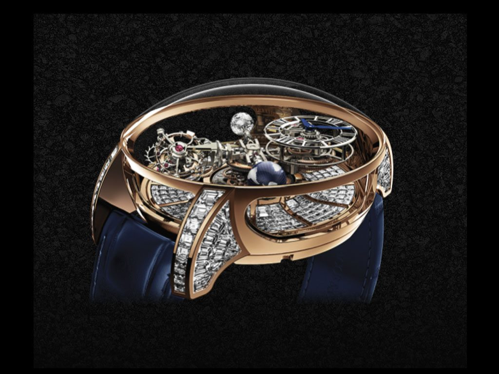 "Conoce mejor el reloj ""Astronomia Tourbillon Baguette"""