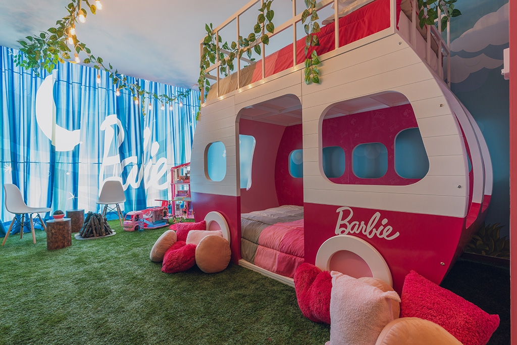 barbie1 1024x683 - Barbie tiene nuevo hogar en Hilton Mexico City Santa Fe
