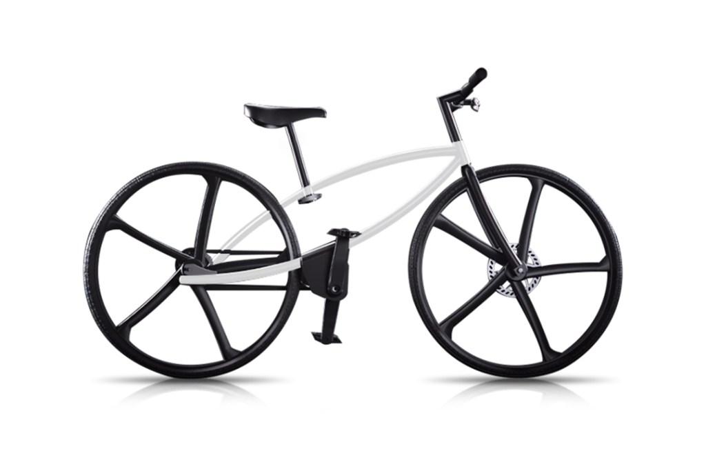 Te va a sorprender lo ligera que es esta bicicleta