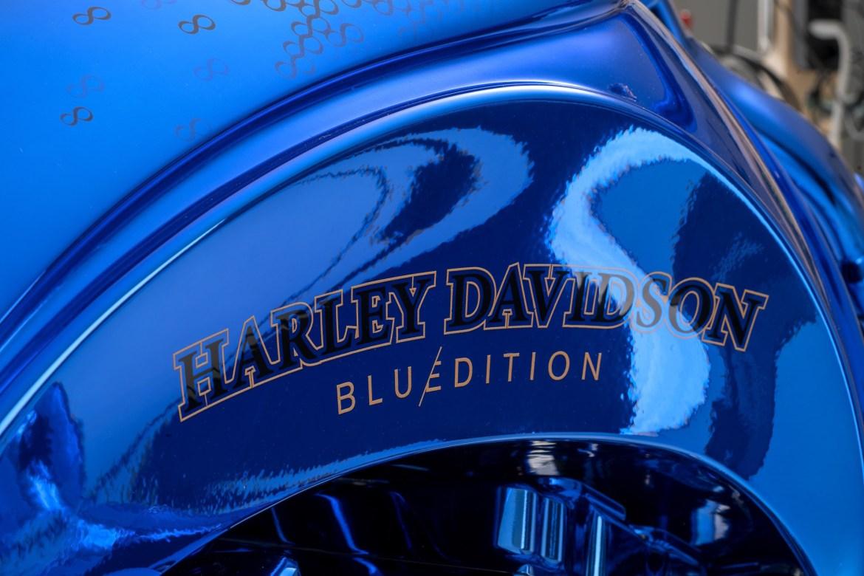 Blue Edition  1 - Harley-Davidson Blue Edition, la moto de 2 millones de dls que amarás