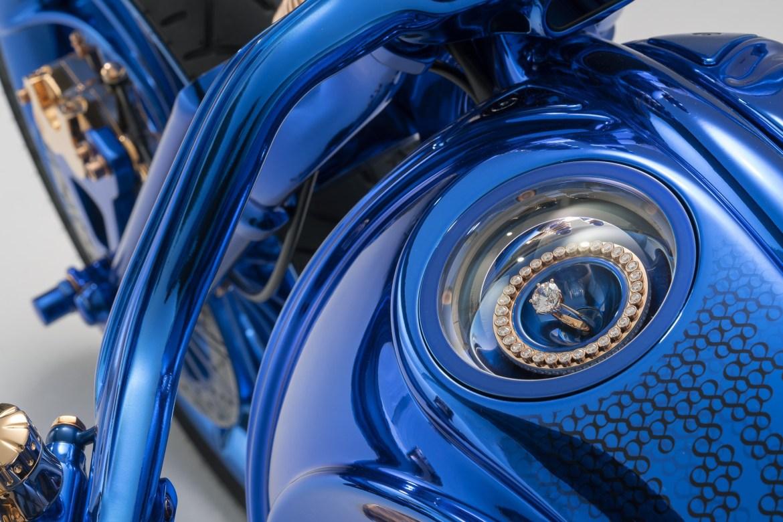 Blue Edition ohne licht - Harley-Davidson Blue Edition, la moto de 2 millones de dls que amarás