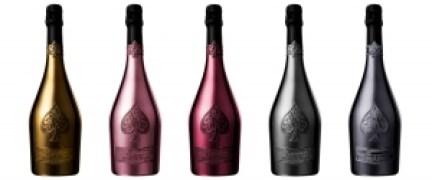 CAdB all bottles 300x125 - Champagne Armand de Brignac llega a México para cerrar el año con broche de oro